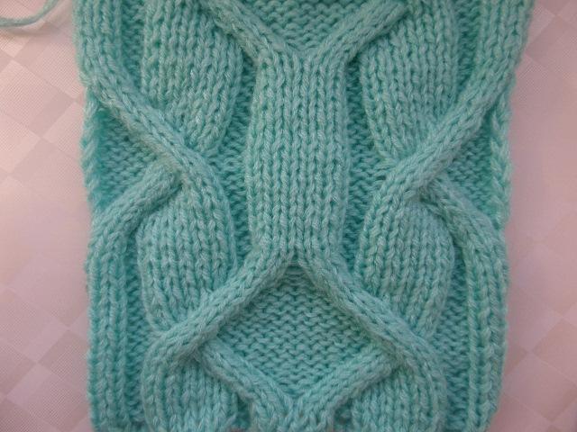 Ирландский узор Часть 1/3 Узор -аран. Вязание спицами. Knitting(Hobby)