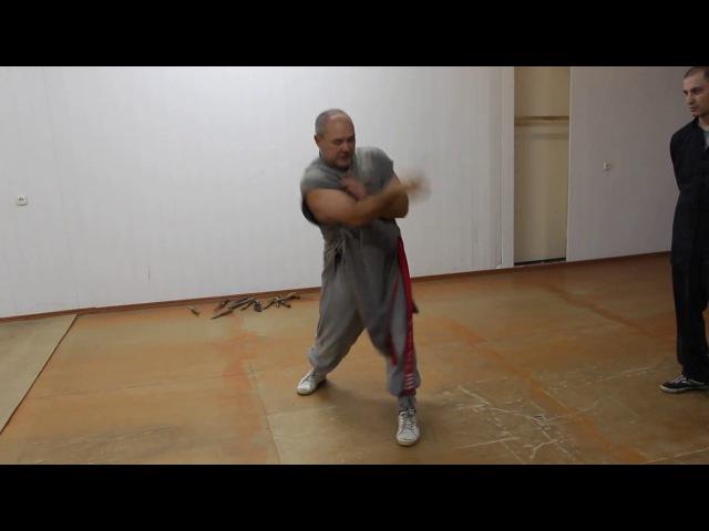Хонг За Куен Владикавказ, парная работа с ножом 2012 - ч.9