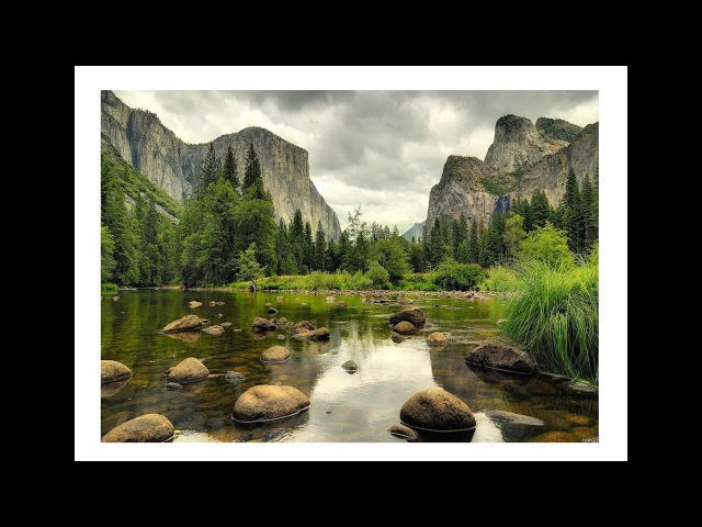 Watercolor Landscape Tutorial - Yosemite - National Parks - REALTIME