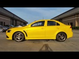 Nebula Yellow Pearl - Worlds Fastest Ralliart Evo SST - Autoflex Coatings