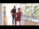 Julianne Hough Salsa Dancing with Lewis Howes DWTS