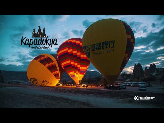 Cappadocia 4K   TURKEY