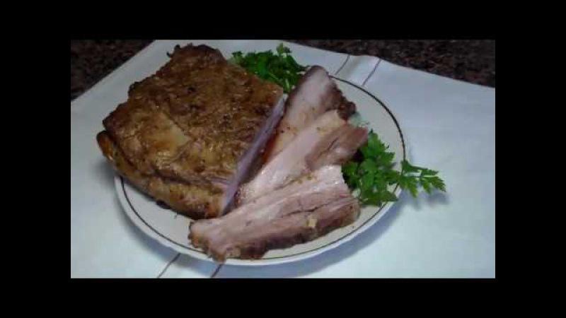 Подчеревок свинной запечённый