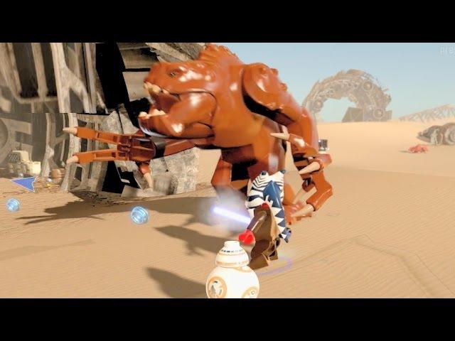 LEGO Star Wars The Force Awakens Part 1 Jakku HUB All Carbonite, Characters Gold Bricks