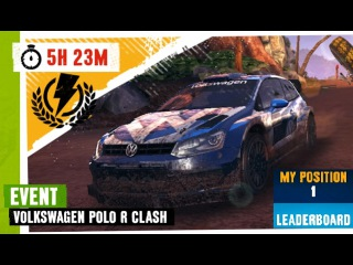 Asphalt Xtreme🏎💨Volkswagen Polo R Clash🏆1st🥇[1:05:901] Across Waterfalls (No Booster)