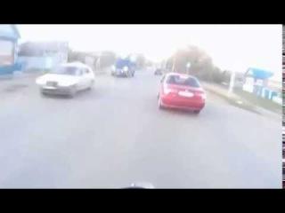 Погоня за мотоциклистом (Need for speed в реальной жизни)