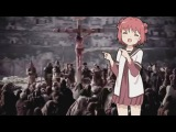 Jesus getting crucified to the Madoka Magica opening theme