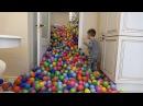 Наши шарики из Сухого Бассейна стали звездами YouTube благодаря 4х-летнему Супер-Сене