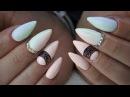 Pastel Ombre nails lakiery hybrydowe by Natalia Siwiec Indigo Kryształy Swarovskiego
