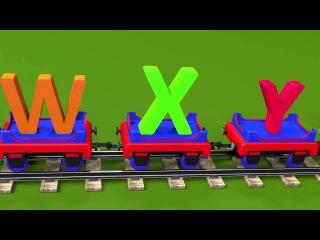 ABC song for baby kindergarten children Learn alphabet with Choo Choo the Train