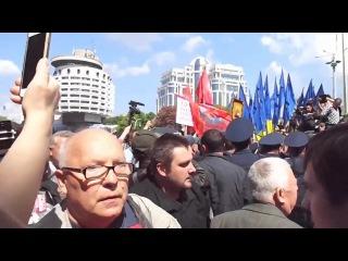 Киеве 9 Мая 2016 -избиение БЕССМЕРТНОГО ПОЛКА