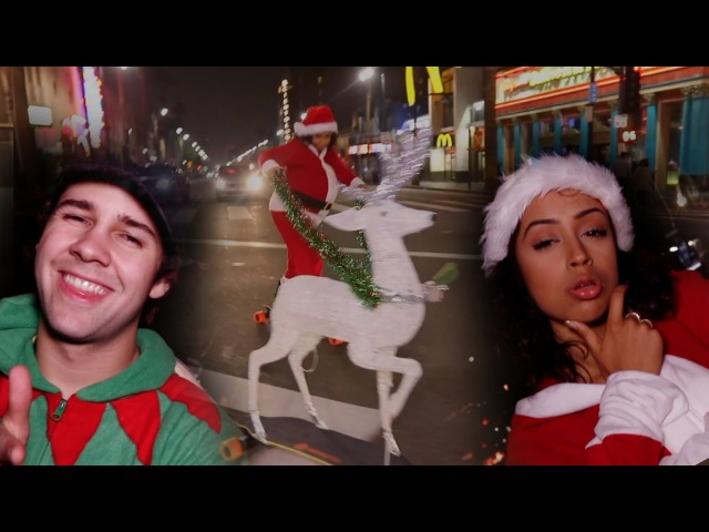 CHRISTMAS COUPLES CRUMP IN PUBLIC!! GONE WILD