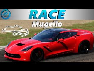 [Race] AC Racing Club. Chevrolete Corvette C7 Stringray. Mugello