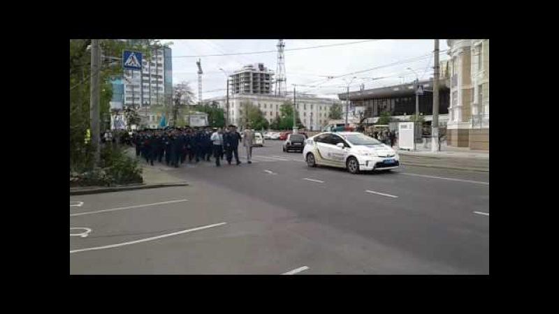 Парад ветеранов Одессы - 9 мая 2017  (ул.Белинского в парк Шевченко)