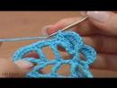 Вязание листика крючком Урок 28 часть 1 из 2 Великолепный объемный листочек