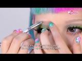 Make Up! МАКИЯЖ-КАК СДЕЛАТЬ СУПЕР БОЛЬШИЕ ГЛАЗА В СТИЛЕ АНИМЕ