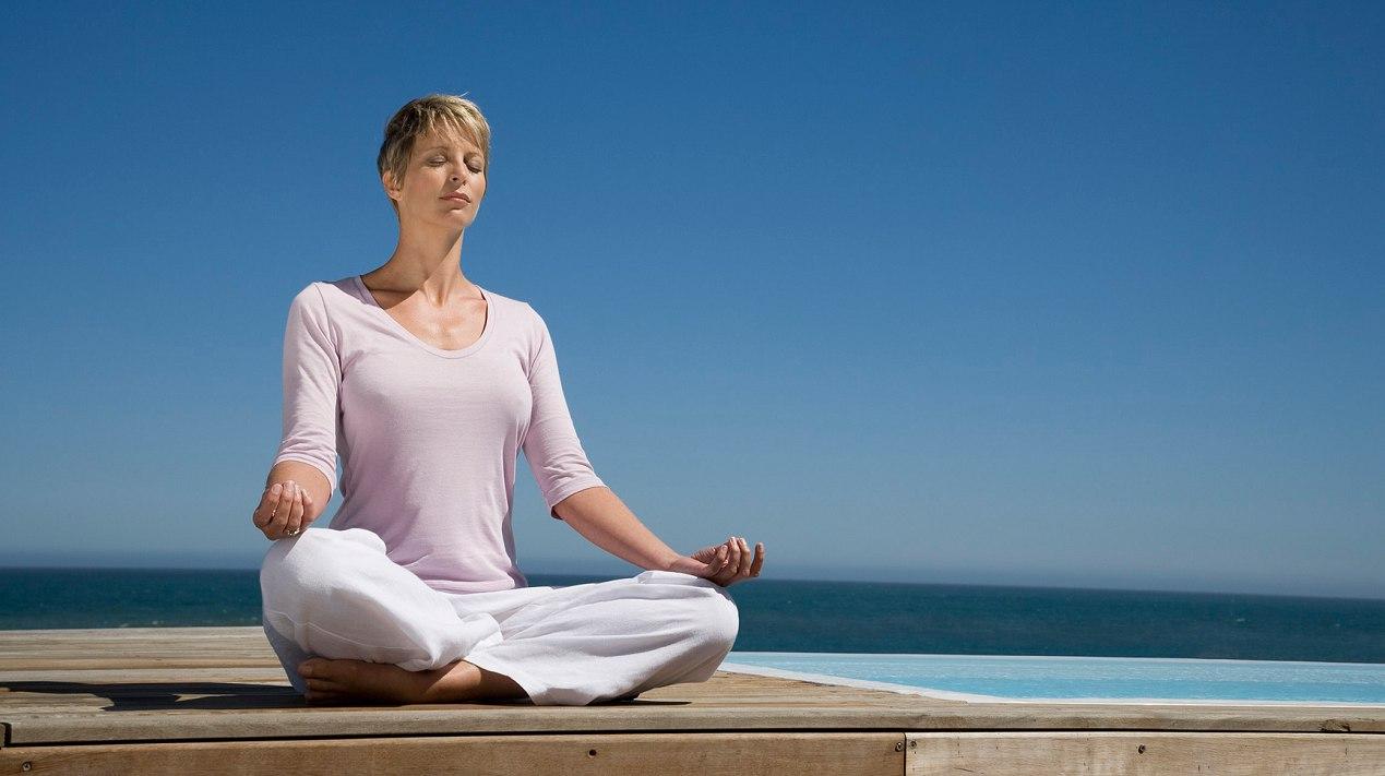 Медитация — род психических упражнений, используемых в составе духовно-религиозной или оздоровительной практики