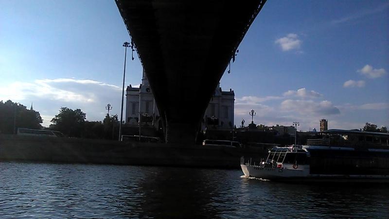 съёмка на Берсеневской набережной