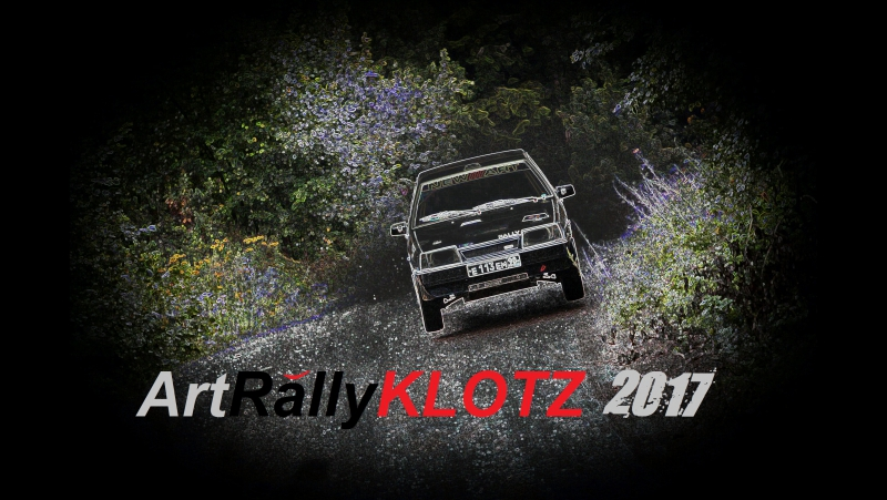 RALLY CAR Art Rally KLOTZ 2017