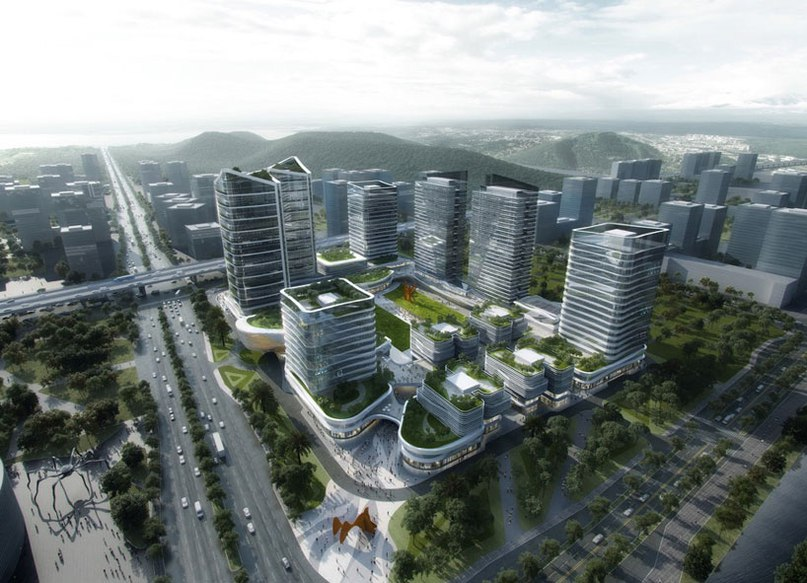 Aedas wins competition to develop vast hi-tech innovation park in china