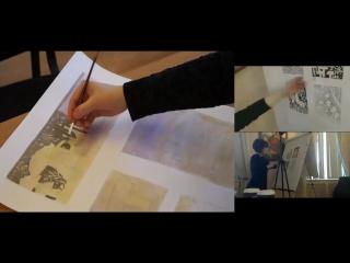Как нарисовать грибы в разных техниках
