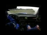 Colin McRae катает журналиста на WRC Subaru Impreza WRX STI