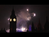 London New Years Eve Fireworks 2016 ⁄ 2017 BBC One