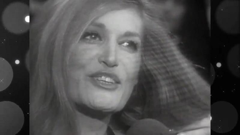 Dalida ♫ Que reste-t-il de nos amours, Les choses de l'amour, Pour ne pas vivre seul 10.04.1973