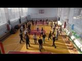 Вторая репетиция выпускников школ Благовещенского района. Хоровод
