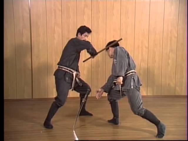 Masaaki Hatsumi Hanbo - scuola Kukishinden Ryu