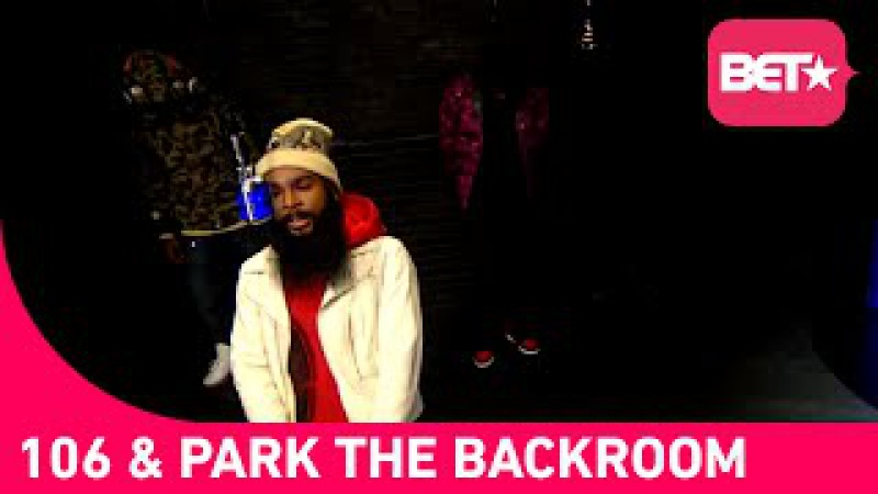 Flatbush Zombies in the 106 Park BET Backroom