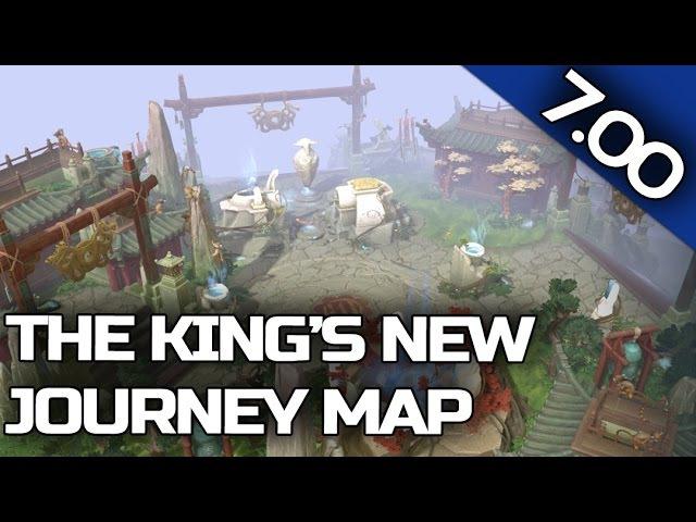 7.00 PATCH UPDATE Dota 2 - King's New Journey Terrain