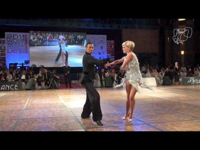 Martino Zanibellato - Michelle Abildtrup, DEN | Solo Cha Cha PoV | 2011 WDSF World Latin Final