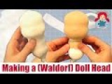 DIY How to make a (Waldorf) Doll Head Sami Doll Tutorials