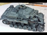 Basic Weathering on a Panzer Grey Finish - Winter Effects Tutorial PART 1