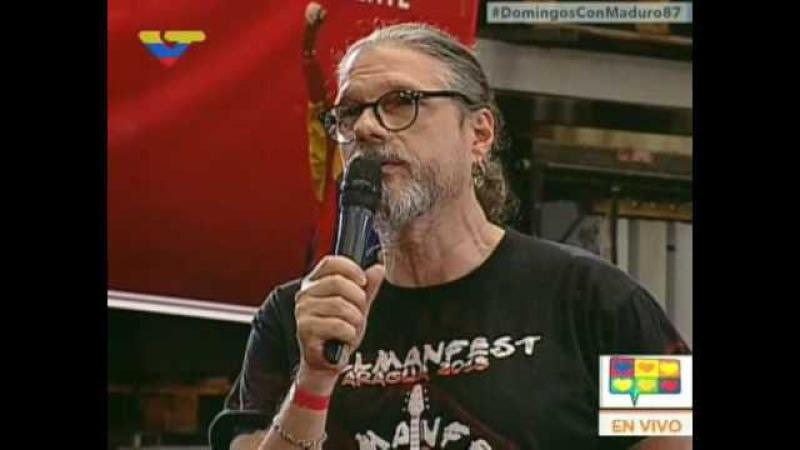 Gillman: Prefiero renunciar a mis sueños que a la Revolución y al presidente Maduro