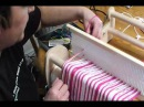 How to warp and weave a Log Cabin Pattern on a Rigid Heddle Loom