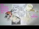 4ч МК вязание по схеме бабочки №1Уроки вязания крючком Ирландского кружева Кот ...