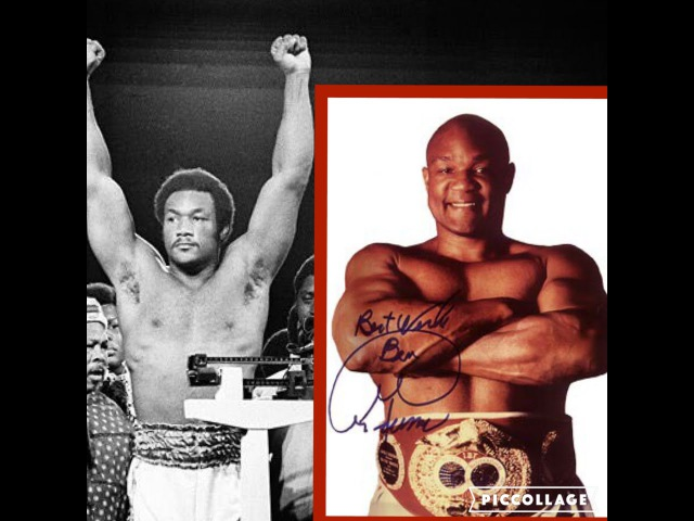 YOUNG George FOREMAN VS OLD George FOREMAN KNOCKOUT HIGHLIGHTS (Tribute) HD