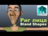 Уроки autodesk Maya/Правильный Риг лица,Бленд шеипы/Face rig,Blend Shapes /webinar