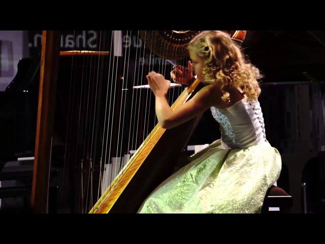 Pescetti - Sonata in c-moll (Alisa Sadikova 12 years old harpist)