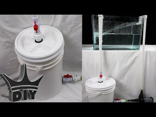 HOW TO: Build an XL aquarium canister filter - PART 2 OF 2