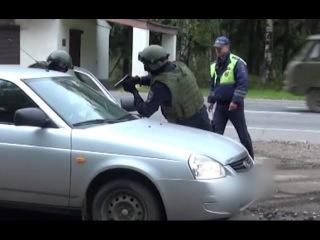 СОБР задержал теневого бизнесмена оперативная съёмка