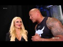 The Rock Returns Home - Raw 1/25/16