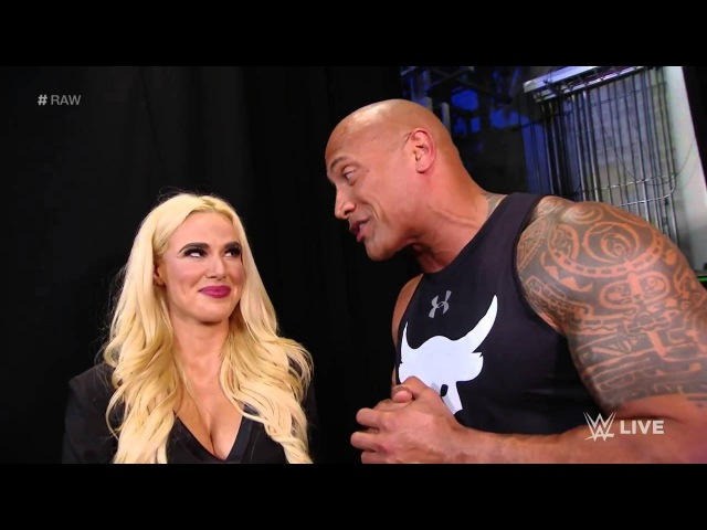 The Rock Returns Home Raw 1 25 16