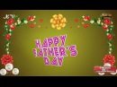 Happy Father's Day, Fathers Day Wishes, Father's Day Greetings, Father's Day Animation