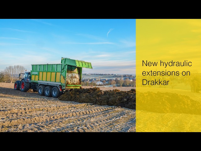 New hydraulic extensions on Drakkar
