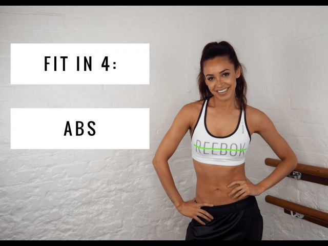 WORKOUT FOR ABS | Danielle Peazer