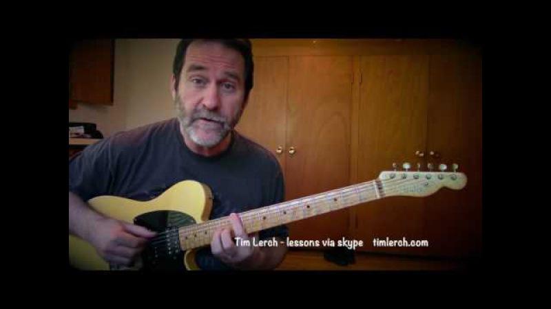 Tim Lerch - Improvising Solo Guitar - Lesson