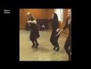 девушка класно танцует лизгинг